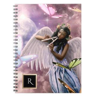 蝶イースターギフトのノートとの天使 ノートブック