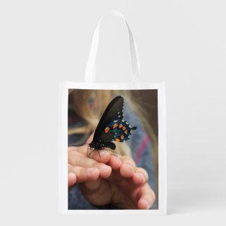 蝶エコバッグの把握 エコバッグ