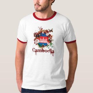 蝶カンボジア Tシャツ