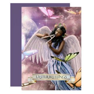 蝶カードとのイースターBlessings.Angel 12.7 X 17.8 インビテーションカード