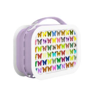 蝶コラージュ ランチボックス
