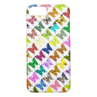 蝶コラージュ iPhone 7ケース