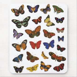 蝶コレクション マウスパッド