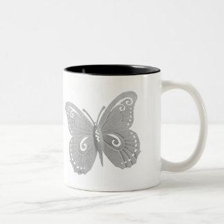蝶コーヒー・マグ ツートーンマグカップ