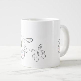 蝶ジャンボマグ ジャンボコーヒーマグカップ