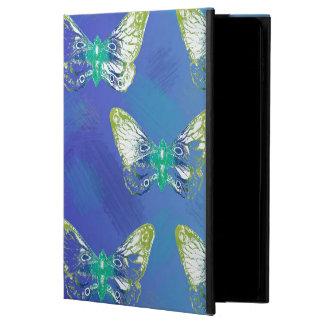 蝶デザインのIpadのかわいらしい押された場合 Powis iPad Air 2 ケース