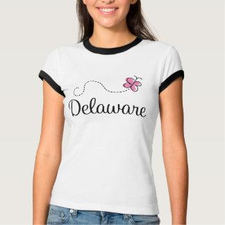 蝶デラウェア州かわいいTシャツ Tシャツ