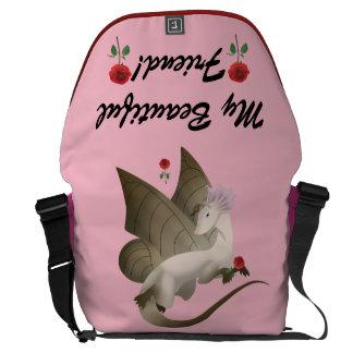 蝶ドラゴンのメッセンジャーバッグ2 メッセンジャーバッグ