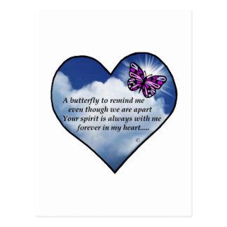 蝶ハートの詩 ポストカード