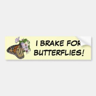 蝶バンパーステッカーのためのブレーキ バンパーステッカー