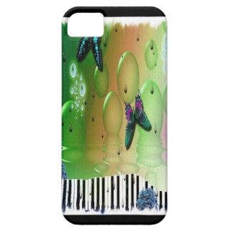 蝶ピアノ鍵 iPhone SE/5/5s ケース