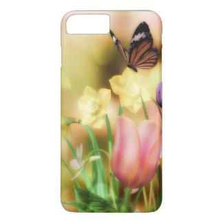 蝶ファンタジーの庭のiPhoneの場合 iPhone 8 Plus/7 Plusケース
