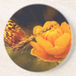 蝶ファンタジー コースター