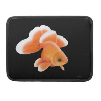 蝶ファンテールの金魚のMacbookの折り返しの袖 MacBook Proスリーブ