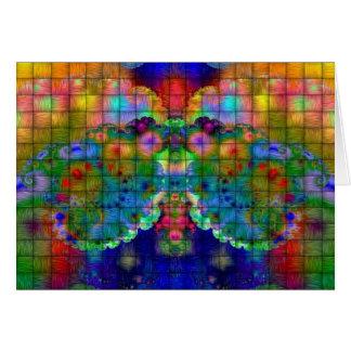 蝶フラクタル カード