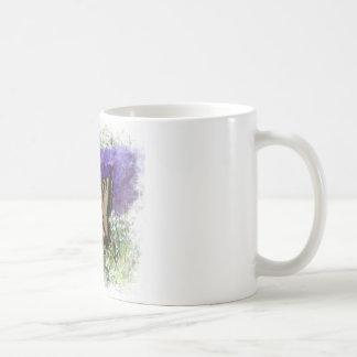 蝶ブッシュのトラのアゲハチョウ コーヒーマグカップ