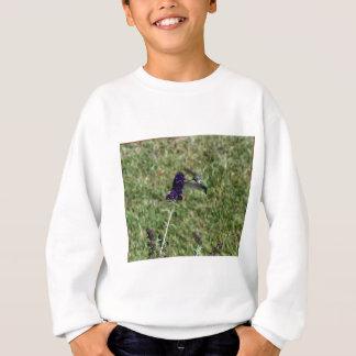 蝶ブッシュのハチドリ スウェットシャツ
