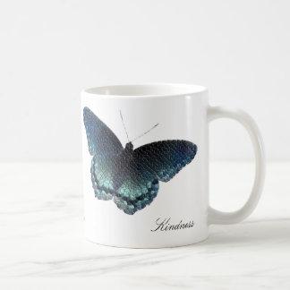 蝶モザイク コーヒーマグカップ