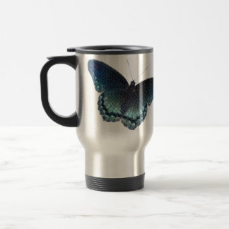 蝶モザイク トラベルマグ