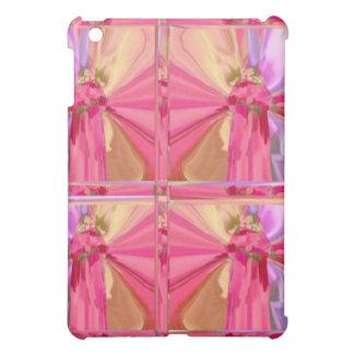 蝶ランプのかさパターン- RedRoseの花弁の芸術 iPad Miniケース