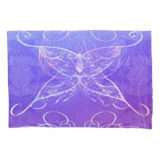 蝶リボンの枕カバー 枕カバー