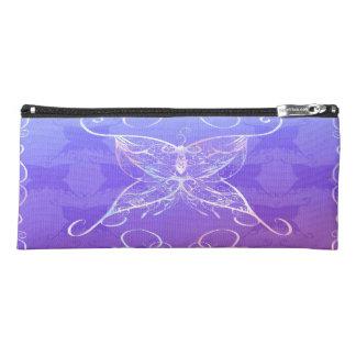 蝶リボンの筆箱 ペンシルケース