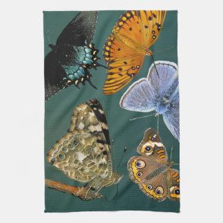 蝶動物の台所 キッチンタオル