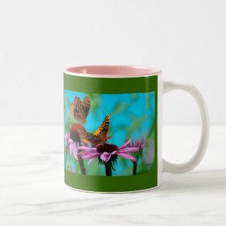 蝶友人-マグ ツートーンマグカップ