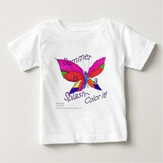 蝶夏のしぶき ベビーTシャツ