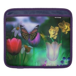 蝶夢の庭のiPadの袖 iPadスリーブ