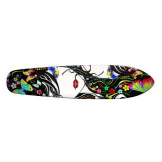 蝶女の子1Aのスケートボード スケートボード