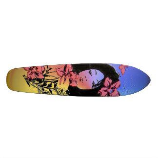 蝶女の子3のスケートボード スケートボード