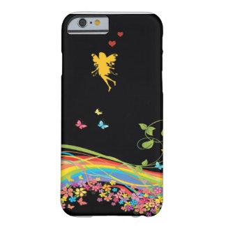 蝶女の子 BARELY THERE iPhone 6 ケース