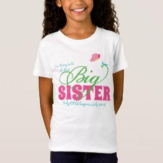 蝶姉の名前入りな女の子のTシャツ Tシャツ