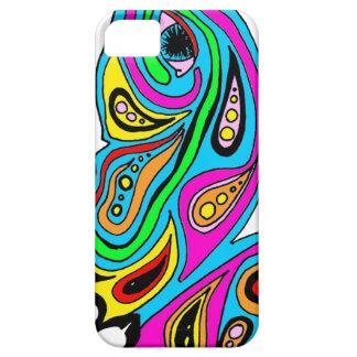 蝶抽象デザインのIPhoneの場合 iPhone SE/5/5s ケース