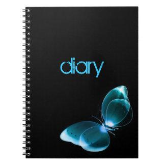 蝶日記のノート ノートブック