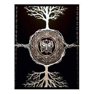 蝶木の曼荼羅 ポストカード
