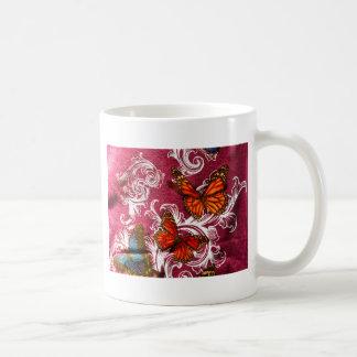 蝶渦巻 コーヒーマグカップ