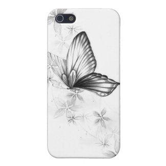 蝶白 iPhone 5 ケース