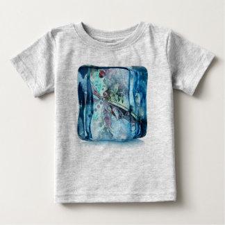 蝶立方体 ベビーTシャツ