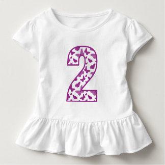 蝶第2誕生日 トドラーTシャツ