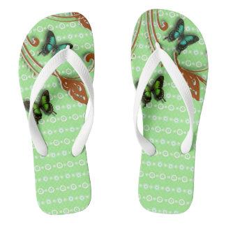 蝶緑 ビーチサンダル