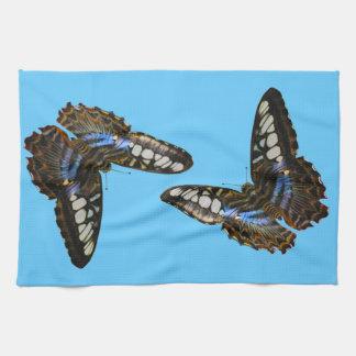 蝶美しいの昆虫恋人のギフトシリーズ キッチンタオル