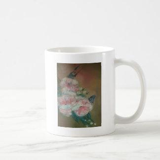 蝶美しい コーヒーマグカップ