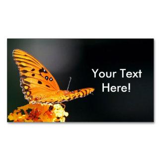 蝶美しい マグネット名刺