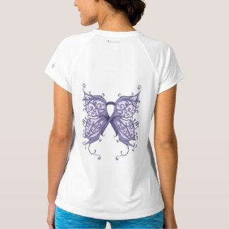 蝶翼が付いているタマキビの蟹座のリボン Tシャツ