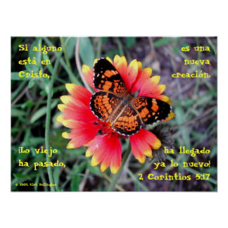 蝶花2のCorintiosの5:17 ポスター