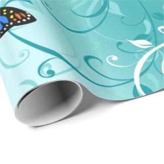 蝶芸術2の包装紙 ラッピングペーパー