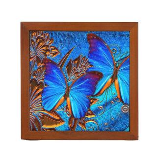 蝶芸術35の机のオルガナイザー ペンスタンド