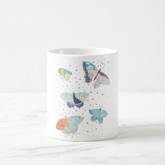 蝶草原の生息地 コーヒーマグカップ